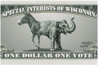 Special Interests of Wisconsin: One Dollar One Vote