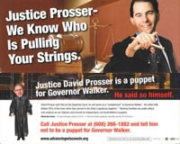 Advancing Wisconsin Anti-Prosser Flyer