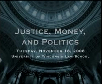 Justice Money and Politics Full Discussion