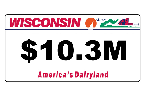 Personalized Wisconsin License Plate