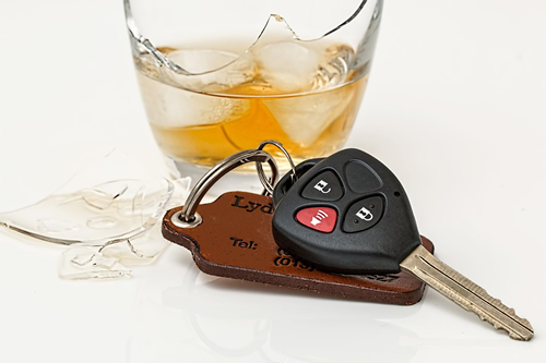 Car Keys and Beverage