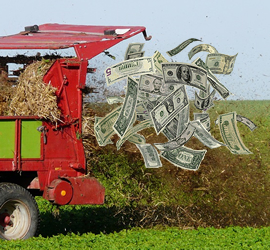 Manure Spreader and Money