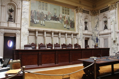 Wisconsin Supreme Court Chambers