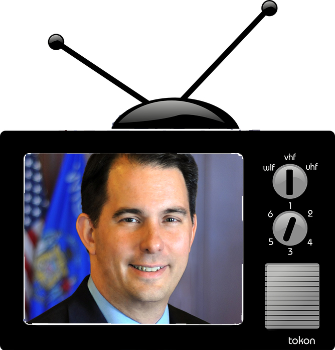 Republican Governors Association Books $5M in TV Ads to Support Walker